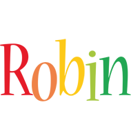 Robin birthday logo