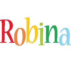 Robina birthday logo