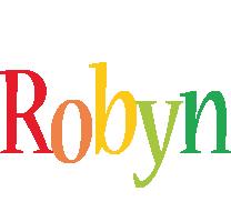 Robyn birthday logo