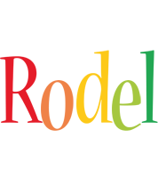 Rodel birthday logo