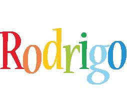 Rodrigo birthday logo
