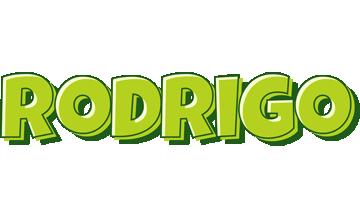 Rodrigo summer logo