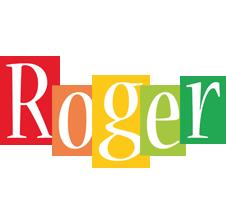 Roger colors logo