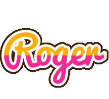 Roger smoothie logo