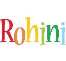 Rohini birthday logo