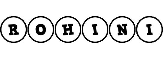 Rohini handy logo