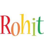 Rohit birthday logo