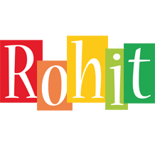 Rohit colors logo