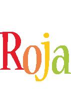 Roja birthday logo