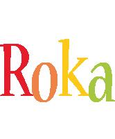 Roka birthday logo