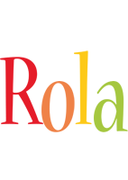 Rola birthday logo