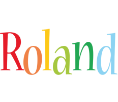 Roland birthday logo