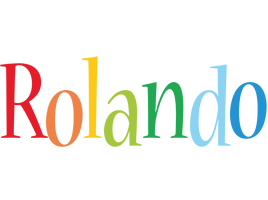Rolando birthday logo