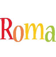 Roma birthday logo