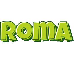 Roma summer logo