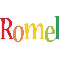 Romel birthday logo