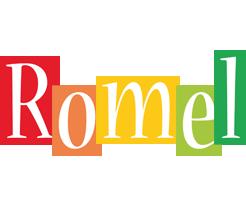 Romel colors logo