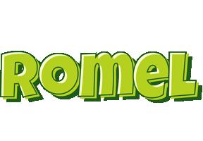 Romel summer logo