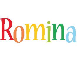 Romina birthday logo