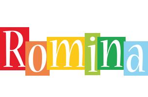 Romina colors logo