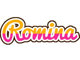 Romina smoothie logo