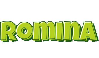 Romina summer logo