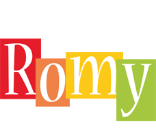 Romy colors logo