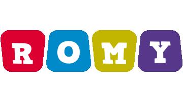 Romy kiddo logo