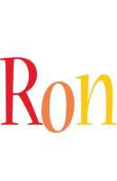 Ron birthday logo