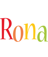 Rona birthday logo