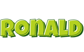 Ronald summer logo