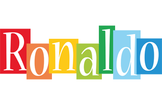 Ronaldo colors logo