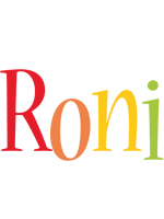 Roni birthday logo