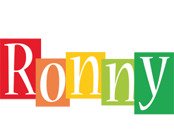 Ronny colors logo