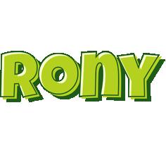 Rony summer logo