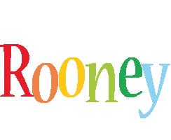 Rooney birthday logo