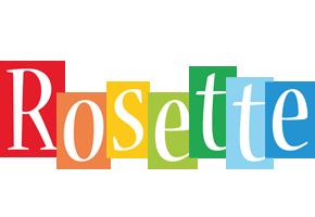 Rosette colors logo