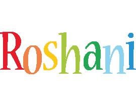 Roshani birthday logo