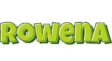 Rowena summer logo