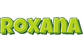 Roxana summer logo