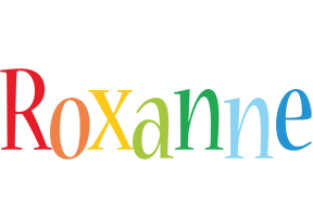 Roxanne birthday logo