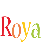 Roya birthday logo