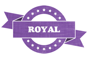 ROYAL logo effect. Colorful text effects in various flavors. Customize your own text here: http://www.textGiraffe.com/logos/royal/