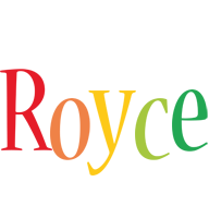 Royce birthday logo