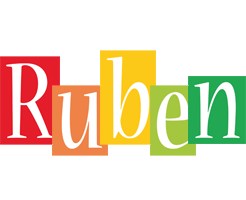 Ruben colors logo