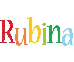 Rubina birthday logo