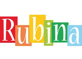 Rubina colors logo