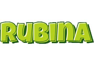 Rubina summer logo