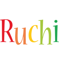 Ruchi birthday logo