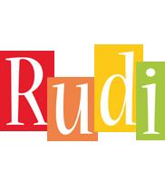 Rudi colors logo